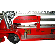 Tonka Steel Pressed 1950's Toy Fire Truck No. 5 M.F.D  Life Net