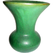 Peters and Reed Green Pottery Vase