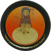 Metal Litho Tin Fairy Soap Tip Tray