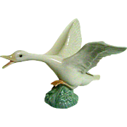 Lladro Flying Duck Porcelain Figurine