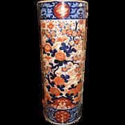 Hand Painted Imari Umbrella Stand