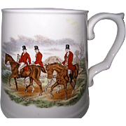 Spode English Hunt Scene Porcelain Mug