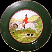 Fritz and Floyd English Hunt Scene Plate