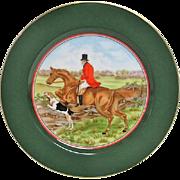 Fitz and Floyd English Hunt Scene Plate