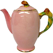 Royal Winton Pink Rosebud Footed Teapot