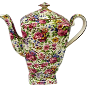 Vintage Royal Winton Summertime Chintz Coffee Pot
