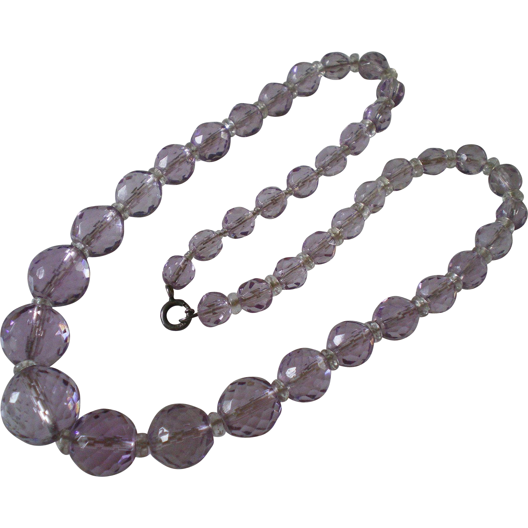amethyst crystal necklace - photo #46