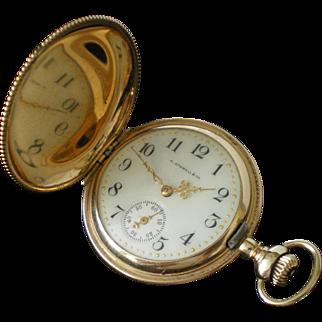 Antique Lady Waltham 16 jewel 14K Solid Gold Pocket Watch