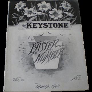 Advertising 1902 Jewelry Watch Silver Optical Keystone Trade Magazine