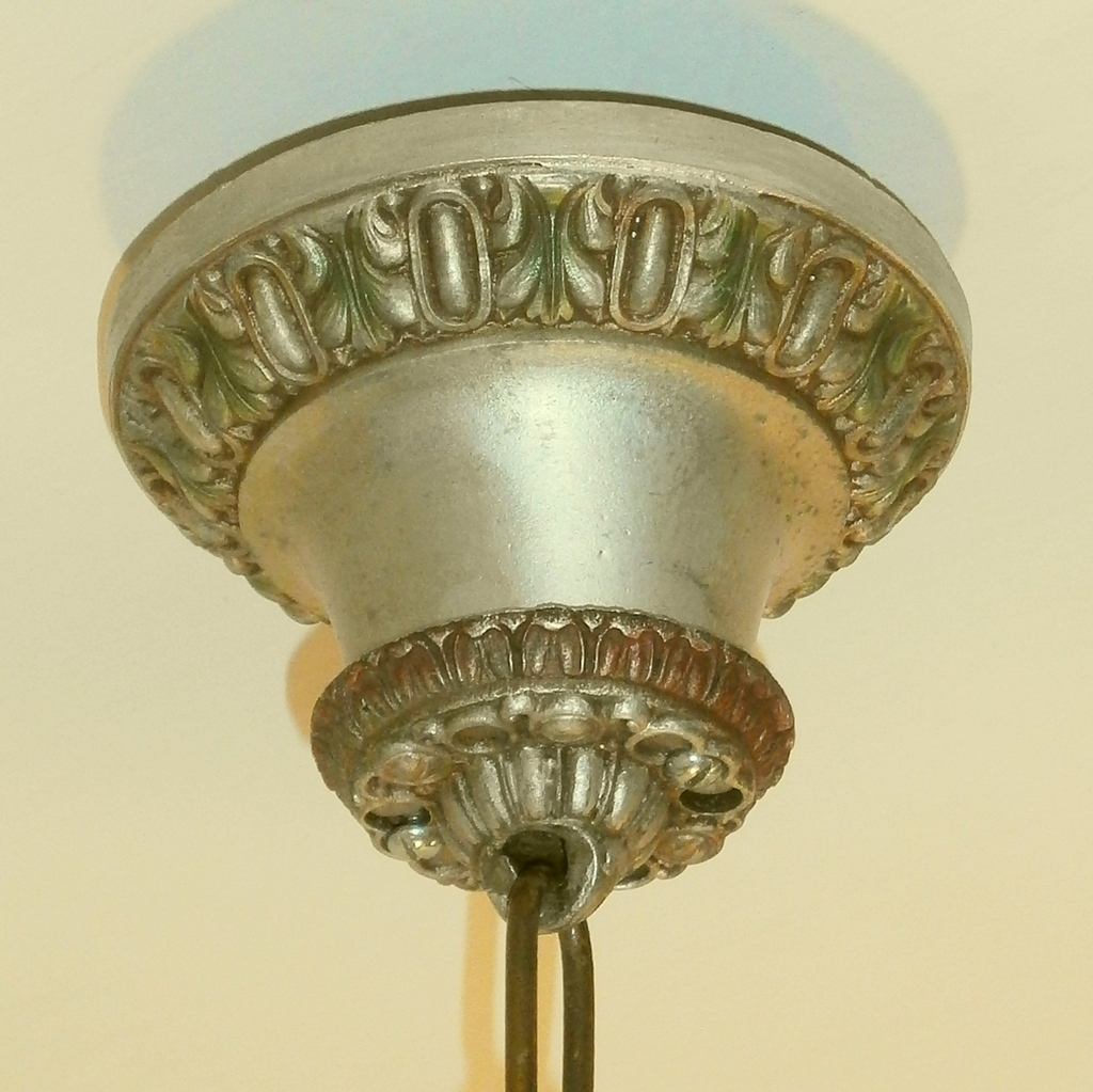 Riddle Silvery Polychrome 5 Light Revival Chandelier Light