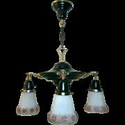 Cottage Style 4-light Chandelier