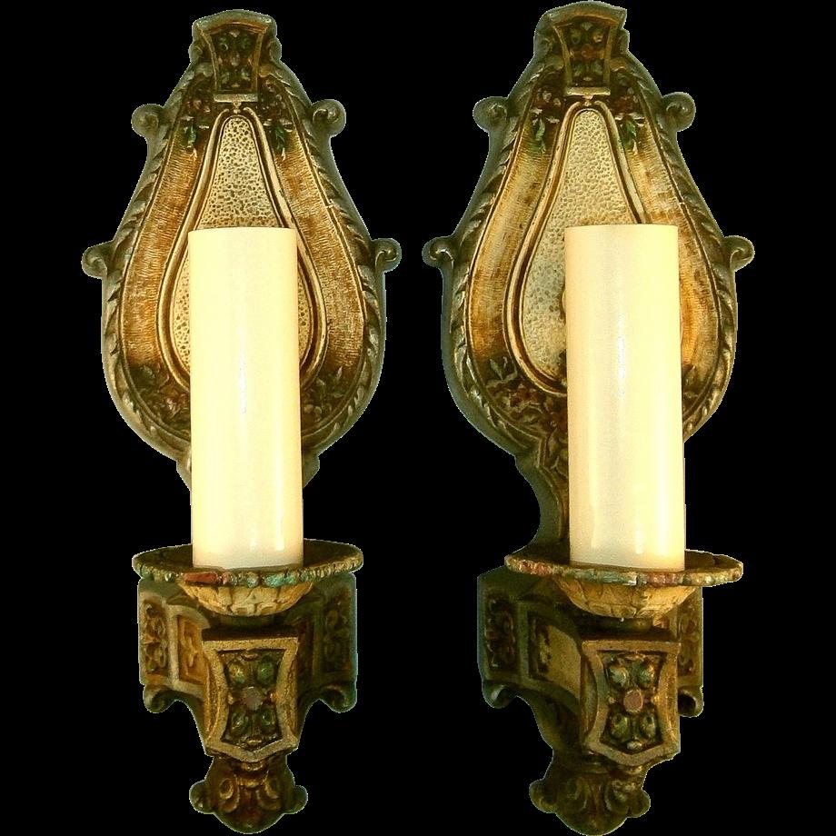 Art Nouveau Sconce - Democraciaejustica