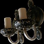 Pair Moe Bridges Sconces - Tudor Style