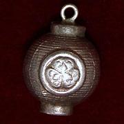 1950's Sterling Japanese Lantern Vintage Silver Charm