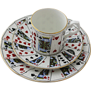 Demitasse Cup and Saucer English Staffordshire Bone China