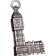 Big Ben English Charm Vintage Solid Silver from UK