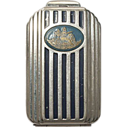 Dorothy Gray Deco Skyscraper Powder Compact 1930