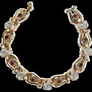 Trifari Clair de Lune Rhinestone Bracelet