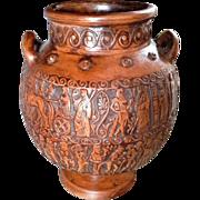 Vintage Pottery Greek Vase