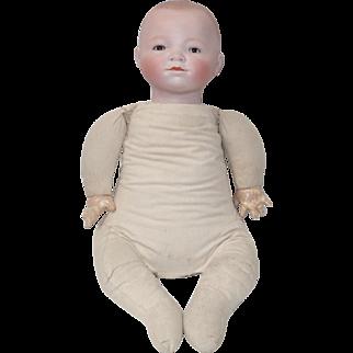 """Grace S. Putnam Original Dated 1923 Germany Bisque Head 18.5"""" Bye-Lo Baby Doll Brown Sleep Eyes"""