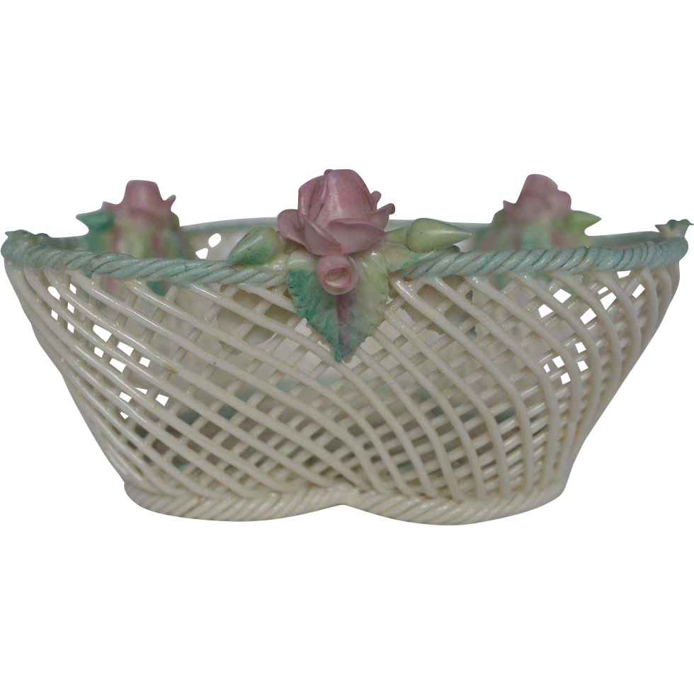 dating belleek baskets Belleek antique & collectable: looking for belleek china was made in ireland, other european countries, and the united states the glaze is creamy yellow and appears wet.