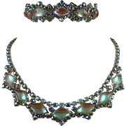 Saphiret Necklace and Bracelet Set