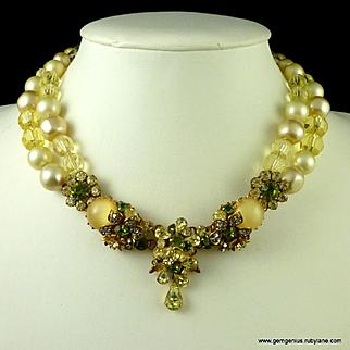 Ornate De Mario Necklace