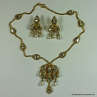 Alice Caviness Necklace and Earring Set