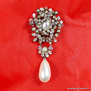 Huge Roger Jean Pierre Brooch