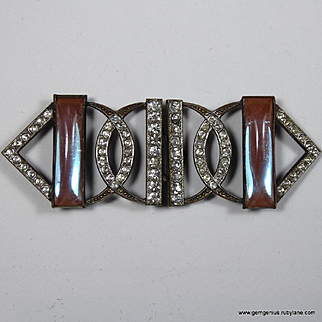 Diamante and Saphiret Buckle