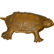 "Cast Iron ""Wilton"" Turtle Doorstop"