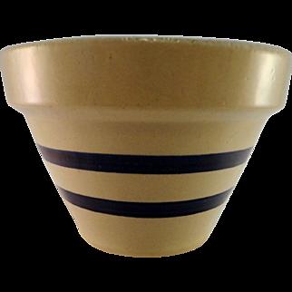 Robinson Ransbottom Blue Striped Pottery Bowl