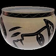 Kosta Boda 'Caramba'  Bowl by Ulrica Hydman-Vallien, Signed, Numbered
