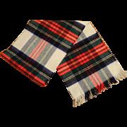 Men's Cashmere/Wool Plaid Scarf