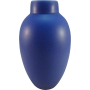 Vintage Steinborn and Gruen Bella Vase in Periwinkle