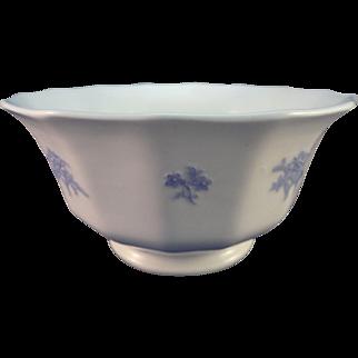 Chelsea Sprig Round Waste Bowl, ca. 1830