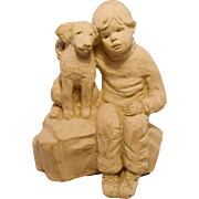 Austin Sculpture 'Fast Friends', Artist Dee Crowley, 1987