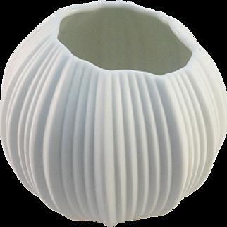 A. K. Kaiser Rose Bowl, Modernist Style, M. Frey Design