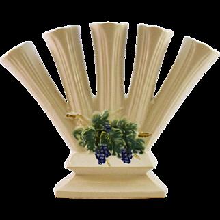 McCoy Matte White Finger Vase