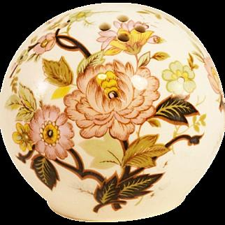 English Porcelain Pomander by Roy Kirkham Pottery for Woods of Windsor