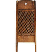 1871 Wood and Tin Vegetable Grater