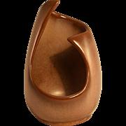 Frankoma Plainsman Brown Free Form Vase #302