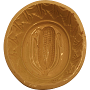19th C. Yellow Ware Corn Mold