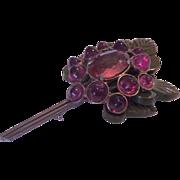 Blumenthal Bakelite Huge amazing pin brooch