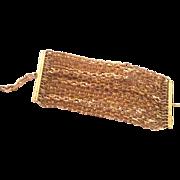 Karl Lagerfeld huge multi chain large 80's bracelet