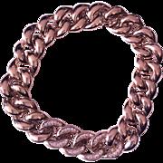 Bijoux CASCIO new old stock amazing big chain rhinestones necklace