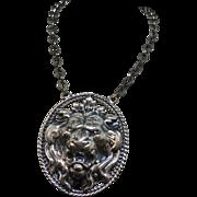 Napier big Lion Pendant Necklace