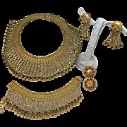 Hobé super collector piece set necklace bracelet and double earrings