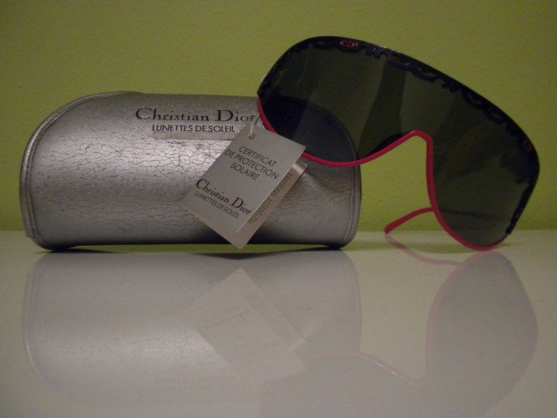 Christian DIOR 80s AMAZING  Sunglasses  still with TAGS!