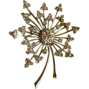 PENNINO  Sterling Spray Pin Brooch